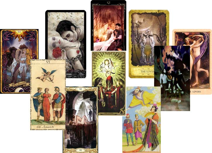 The Lovers Cards