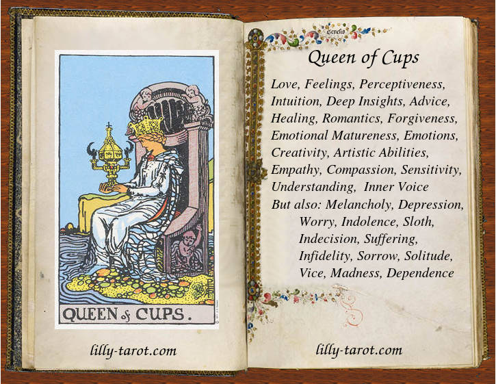 Meaning of Queen of Cups