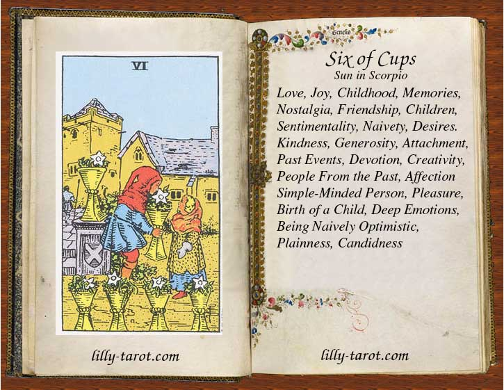 Meaning of Six of Cups