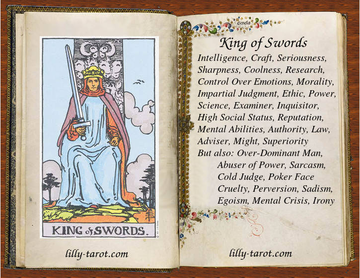 Meaning of King of Swords