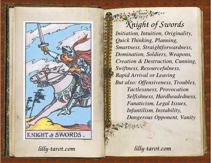 Meaning of Knight of Swords