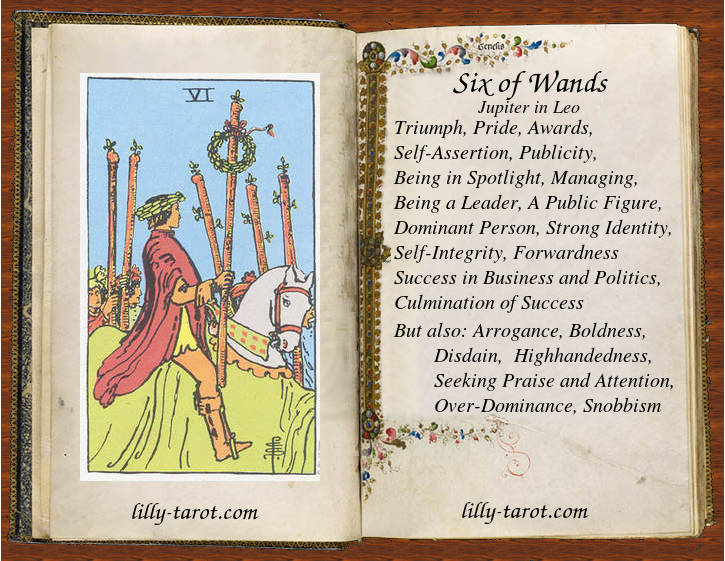 Meaning of Six of Wands