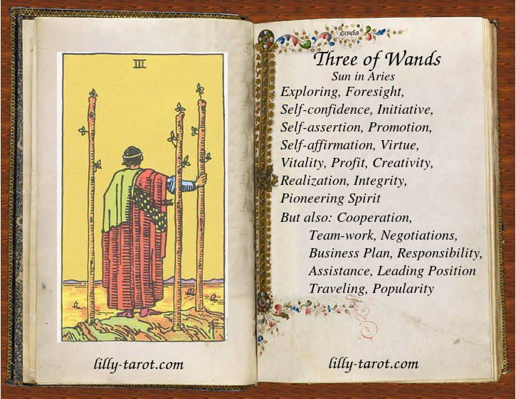 Meaning of Three of Wands