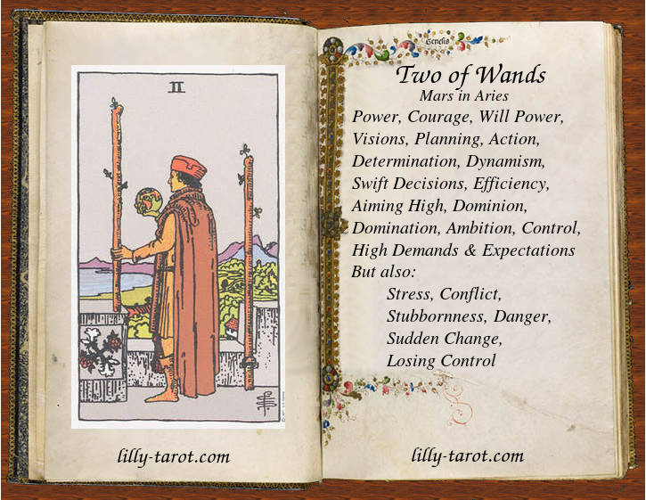 Meaning of Two of Wands