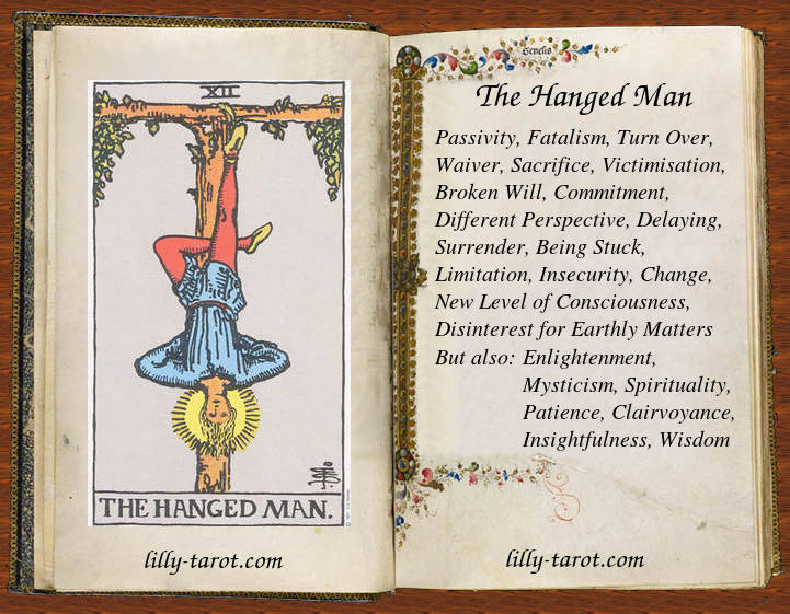the hanged man meaning relationship